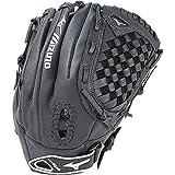Mizuno Youth Prospect Fastpitch Softball GPL1250F2 Utility 312590 Gloves, Size 12.5, Black