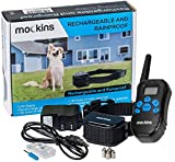 Mockins 100% Rainproof and Rechargeable Electronic Remote Training Dog Collar | Shock Collar for Dogs with 990 ft Range E Collar, Beep and Vibration Easy to Use for Big, Medium and Small Dogs