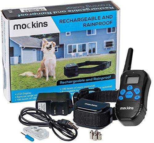 Mockins 100% Rainproof and Rechargeable Electronic...