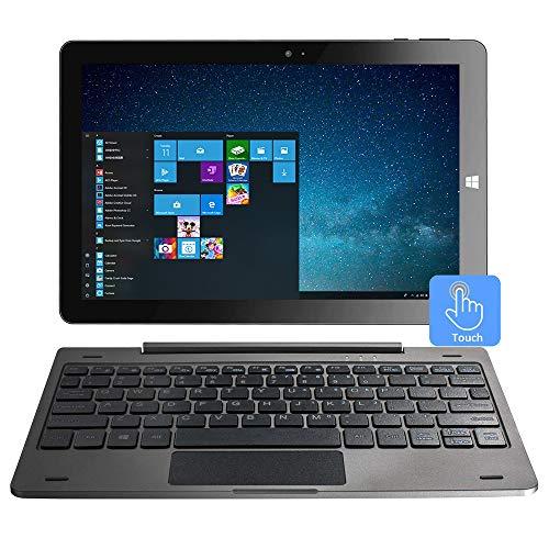 10.1 Inch Windows 10 Tablet 2-in-1 Touchscreen Mini Laptop with Detachable Keyboard/IPS 1280x800 /4GB RAM /32GB ROM/Dual Webcam/Bluetooth 4.2/WiFi/HDMI/Micro SD
