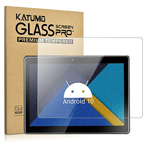 [2 Pack] Universal Touchscreen Tablet 9.6-10.1 inch Screen Protector, Tempered Glass for Tablet 10 inch Film [9.29' x 6.53']