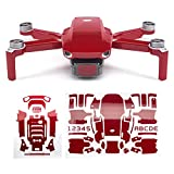 WRAPGRADE Skin Compatible avec DJI Mavic Mini (Japan Red)