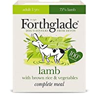 [Forthglade] 玄米&野菜395グラムとの完全な大人の子羊をForthglade - Forthglade Complete Adult Lamb with Brown Rice & Veg 395g [並行輸入品]