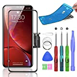 Compatible with iPhone XR Screen Replacement 6.1 inch...