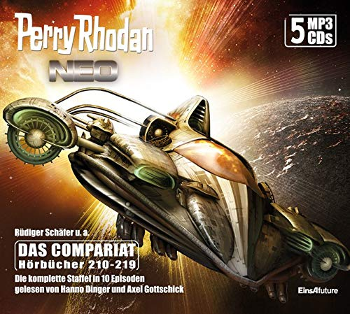 Perry Rhodan Neo Episoden 210-219 (5 MP3-CDs): Staffel: Das Compariat