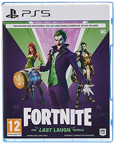 Fortnite: The Last Laugh Bundle - PlayStation 5 [Code in Box], CD not included