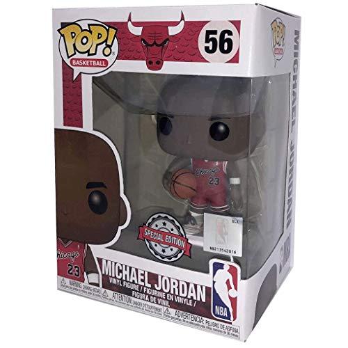 Lotoy Funko Pop Basketball : Bulls - Rookie Jersey Michael Jordan (Exclusive) Vinyl 3.75inch for NBA Fans Model