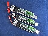 3 Turnigy Nano-tech 600mah 35C Lipo Battery Pack Eflite Blade MQX, Blade 120SR, pro328 Nine Eagles Solo Pro 328, Eflite MQX, Blade 120SR, Smya X1, Hobby Zone Champ