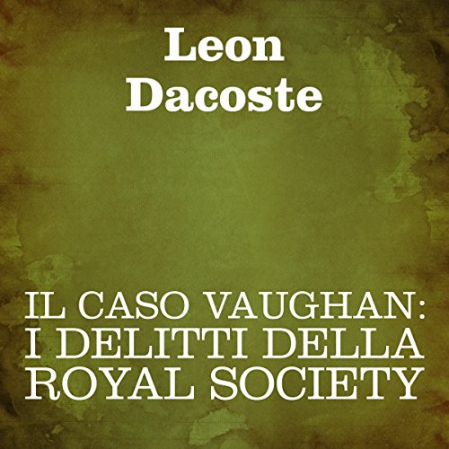 Il caso Vaughan [The Vaughan Case] cover art