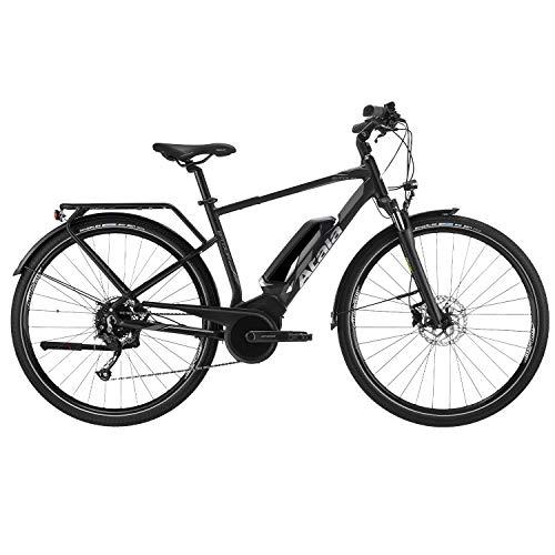 Atala E Bike 700c E-Trekkingrad B-Tour Man 28 Zoll Pedelec Bosch Tourenrad Rad (schwarz/Ultralight/anthrazit, 54 cm)