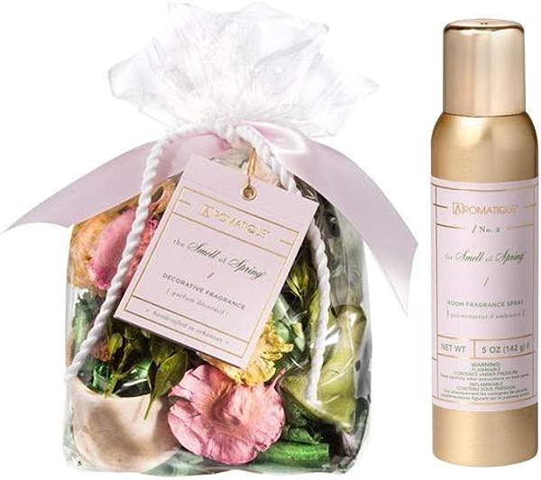 Aromatique The Smell Of Spring 6 Oz Bag Potpourri Plus 5 Oz Room Spray