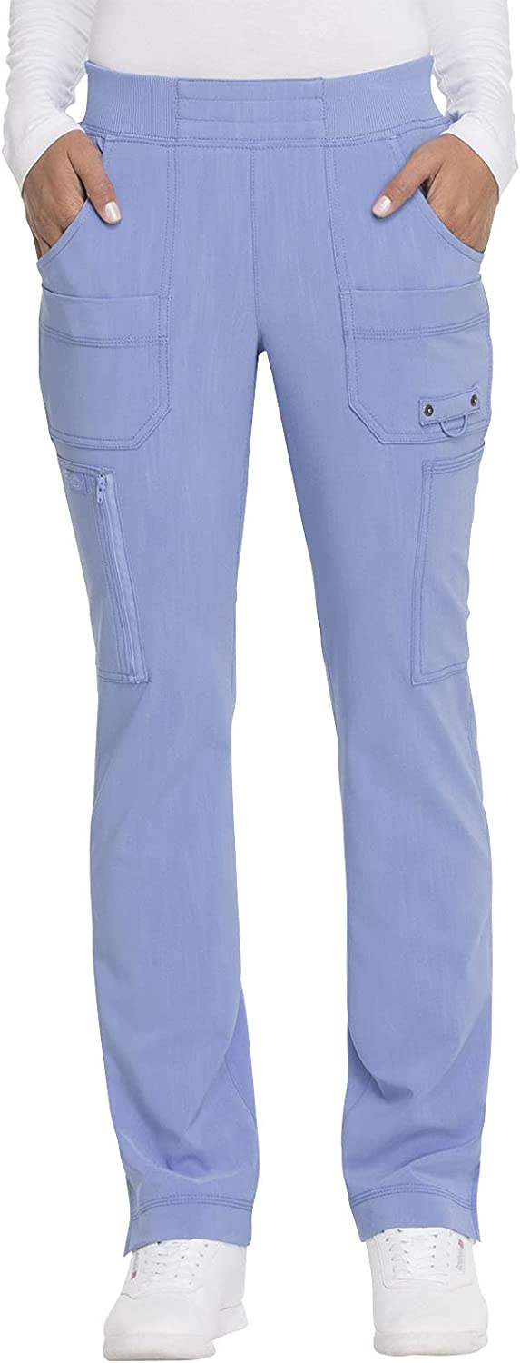 Dickies Philadelphia Mall Advance Women Scrubs Pant Mid Rise D Tapered Manufacturer OFFicial shop Pull-on Leg
