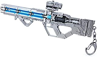 APEX Legends Game Collection 1/6 Metal Havoc Assault Rifle Gun Model Keychain Action Figure Arts Toys Gift Backpack Pendant Party Supplies Desk Decoration Gun