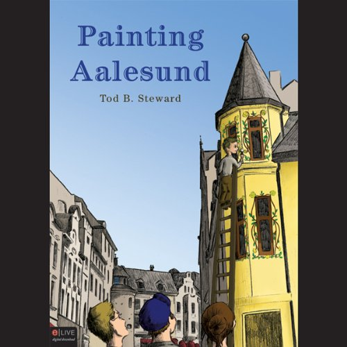 Painting Aalesund audiobook cover art