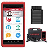 LAUNCH X431 Pros Mini Bi-Directional Diagnostic Tool 31+ Service IMMO Key ECU Coding Active Test Automotive Scanner. TPMS ABS Bleeding Scan Tool, All Systems OBD2 Scanner 2 Years Free Update