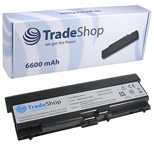 TradeShop Premium Li-Ion Akku 11,1V/6600mAh ersetzt IBM Lenovo 2T4235 42T4731 42T4737 42T4753 42T4733 42T4757 45N1001 für IBM Lenovo ThinkPad L430 L530 T430 T430i T530 T530i W530 W530i