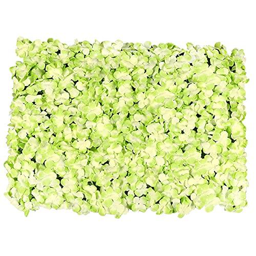 YNGJUENCP Panel De Flores para La Flor De La Flor Fondo De La Flor De Bodas Decoración De Eventos Nupcial Y Baby Shower Y Fotografía Decoración (Verde Rosa)(Size:6pcs,Color:02)