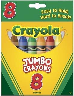 Crayola 52-0389 Crayons Jumbo, Pack of 2