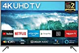 TCL 55EP640 139 cm Fernseher (55 Zoll) Smart TV (4K UHD, HDR 10, Triple Tuner, Android TV, Micro Dimming, Prime Video, Alexa & Google Assistant) Schwarz [Modelljahr 2019]