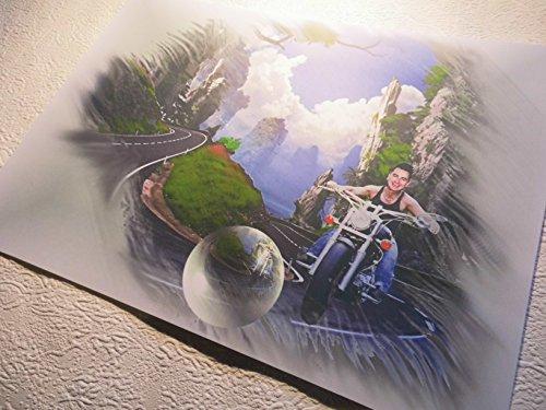 Andreas Gabalier-echt toller Kunstdruck -direkt vom Künstler 30cm x42cm