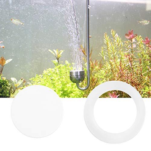 Aquariumverfijningsschijf, 2 stuks CO2 diffuser verstuiver reactor systeem vervanging voor aquarium (12mm)