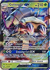Name: Golisopod-GX - 17/147 Set: SM Burning Shadows