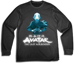 AVATAR The Last Airbender Shirt - Mens The Last Airbender Aang Long Sleeve Tee