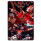F1 Racing Championship Metallplatte Blechschild Plakette
