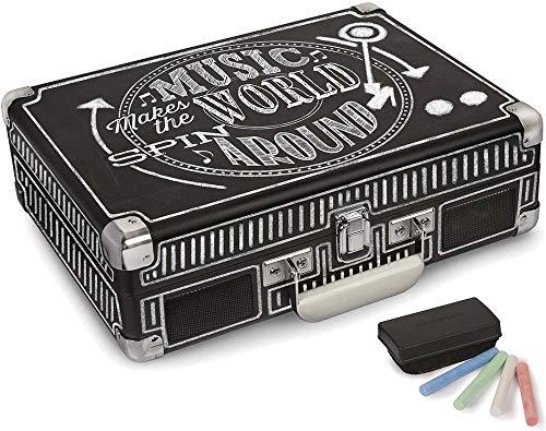 Crosley Radio Cruiser Deluxe Bluetooth Turntable- Chalkboard