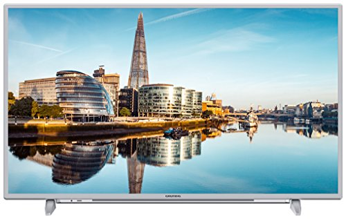 Grundig 43 GUS 8860 109 cm (43 Zoll) LED-Backlight-TV (Ultra-HD, 3840 x 2160 Pixel, 1200 VPI, Triple Tuner (DVB-T2 HD/C/S2), Smart TV), Silber