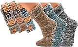 socksPur SOCKS PUR LADY and MEN THERMO-WOLLSOCKEN ABS (43/46, 6572: THERMO WOLLSOCKEN jeansmelange 1 PAAR)
