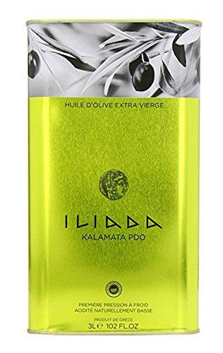 Iliada Kalamata PDO Extra Virgin Olive Oil 3L Tin