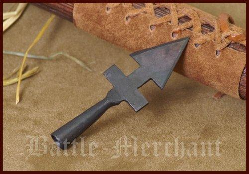 Battle-Merchant Historische Pfeilspitze G - Pfeil und Bogen Langbogen