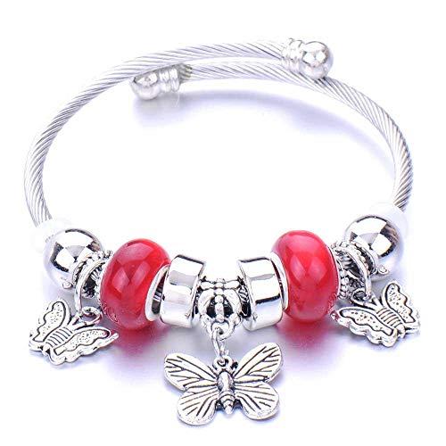 Pulseras Brazalete Joyería Mujer Pulsera Charms Pulseras para Mujeres Crystal Beads Fine Bracelets Women Jewelry-11