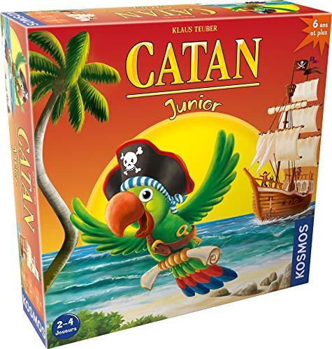 Catan Junior Asmodee - Juego de mesa para niños - Idioma Francés