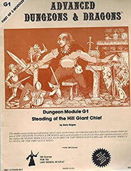G1 Steading of the Hill Giant Chief - Book  of the Advanced Dungeons and Dragons Module #C4
