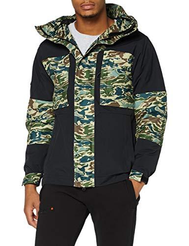 Superdry Jungle Mountaineer Jacket Chaqueta, Verde (Marble Camo Vh6), M para Hombre