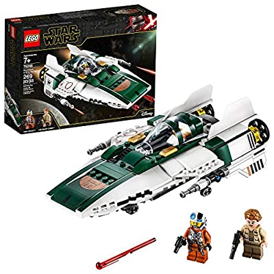 LEGO Star Wars: The Rise of Skywalker Resistance A Wing Starfighter 75248 Advanced Collectible Starship Model Building Kit (269 Pieces) from LEGO
