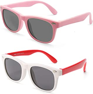 Kids Polarized Sunglasses for Children Age 4-12 Years...