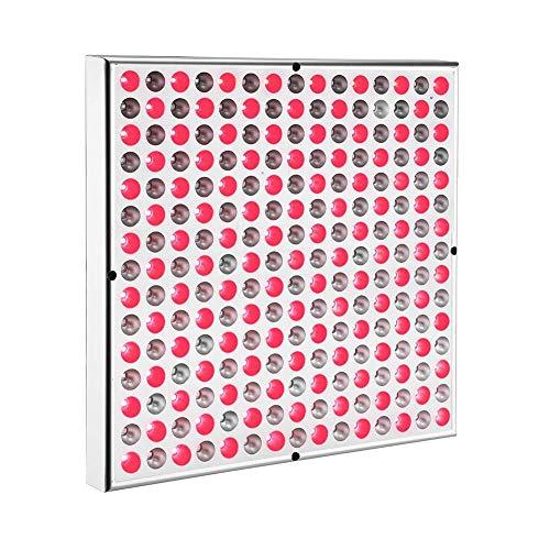DUEBEL Panel de terapia de luz LED roja de 45 W 660 nm rojo 850 nm dispositivo de terapia de luz infrarroja cercano para músculo, piel, alivio del dolor