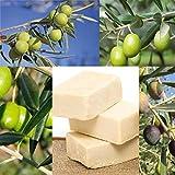 BIO Olivenölseife- d'moRe Olivenölseife – 100% Naturprodukt – Reine Olivenölseife – Für Haar, Gesicht, Hände und Körper. Vegan, Geruchlos, Kaltgepresst, Handgemach - 2