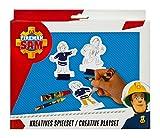 Undercover FSBT4001 - Feuerwehrmann Sam Kreatives Spielset, mit Diorama, Pappaufstellern,...