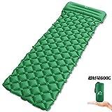 エア-マット キャンプマット 寝袋 KOOLSEN エアーベッド テント泊 車中泊 超軽量型 耐水加工 アウトドア キャンプ キャンピングマット 枕が付き
