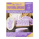 Softly scented lavender themed soaps with unique suspension base Made with natural lavender botanicals Makes up to 10 soap bars Awesome, fresh, handmade beauty products made totally by you Kit includes 28 oz Opaque suspension formula soap, . 27 fl oz...