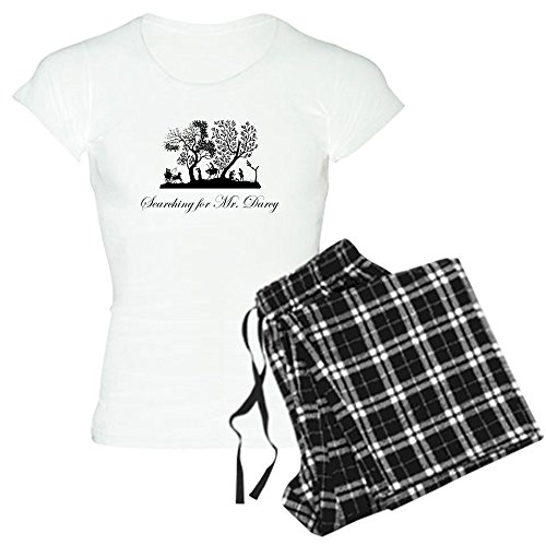 CafePress Mr Darcy Jane Austen Gift Womens Novelty Cotton Pajama Set, Comfortable PJ Sleepwear