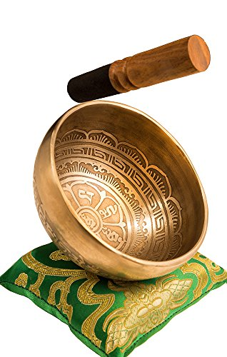 Tibetan Handmade Singing Bowl Set By Yak Therapy