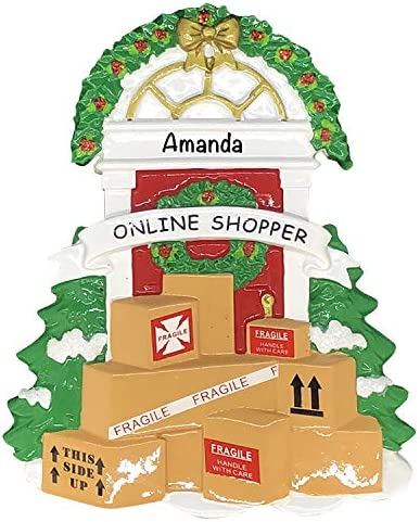 Personalized Christmas Ornaments 2021 Online Shopping Delivery Personalized Christmas Ornaments product image