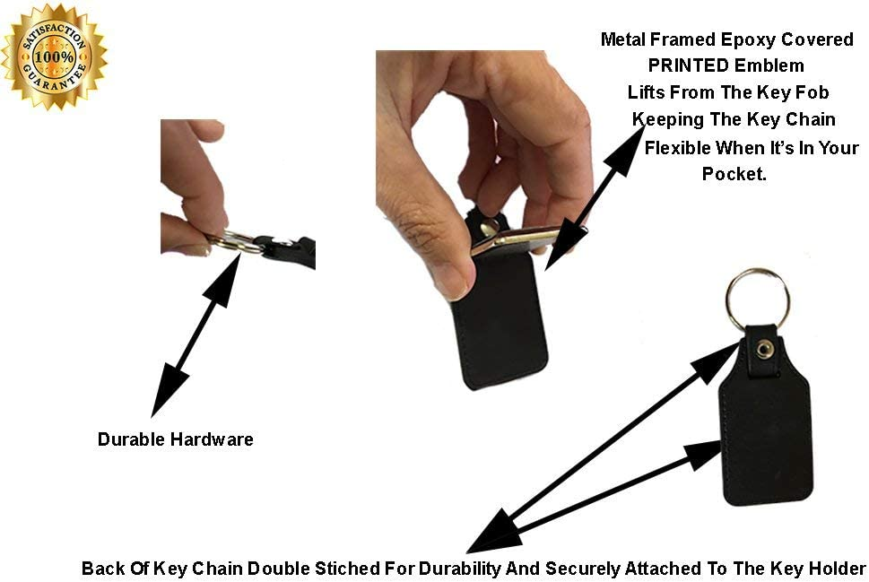 Brotherhood Japanese Compatible with Nissan Prince Emblem Design Keychain Key Holder Key Ring for Men Heavy Duty Car Keyring for Men and Women