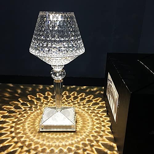 LOXO CASE Lámparas de Mesa de Cristal,Lámpara de Mesita de Noche Control Tactil,con Carga USB,3 Modos de iluminación,para Sala de Estar, Dormitorio, Comedor,White