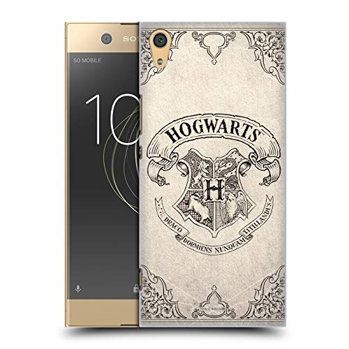 Head Hülle Designs Offizielle Harry Potter Hogwarts Pergament Sorcerer's Stone I Harte Rueckseiten Huelle kompatibel mit Sony Xperia XA1 Ultra/Dual